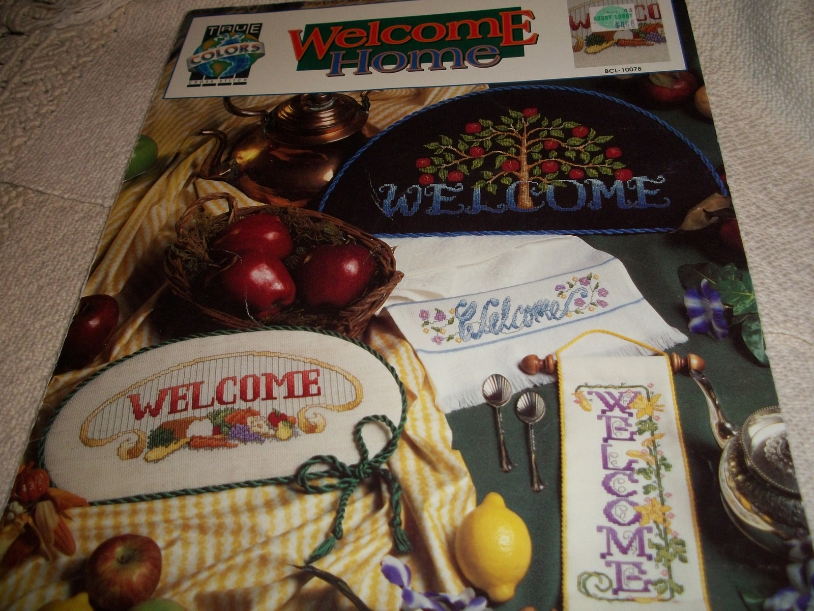 True Colors: Welcome Home Cross Stitch Designs