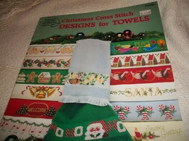 Christmas Cross Stitch Designs for Towels - $7.00