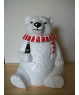 1994 Coca Cola Polar Bear Cookie Jar  - $45.00