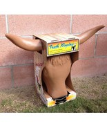 Truth Roping Steer Head dummy rodeo practice team rope Brand New tan bul... - $27.23