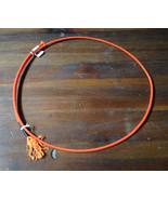 Boys Girls youth junior Goat Tying String Rope calf 3 Ply Soft Orange ro... - $15.84
