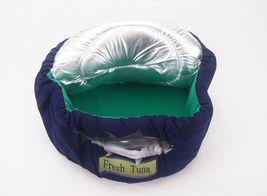 Tuna Can Cat Bed, w/Lid ~ Soft Cuddly & Cute Kitty Playhouse ~ Bandwagon #L7190 image 3