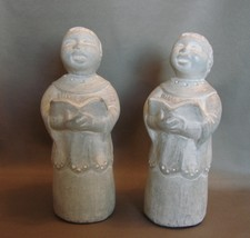 Matching Pair Isabel Bloom Sculpture: Singing Choir  Angel 1997 Signed - $20.99