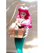 Disney Ariel Little Mermaid DISNEY'S CHRISTMAS MAGIC Christmas Ornaments... - $32.99
