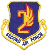 USAF Second Air Force Patch  - $4.95