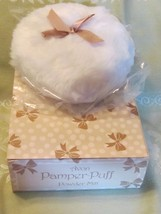 Rare Avon Pamper Puff Powder Mitt in Original Box - New In Box Old Stock - $19.95