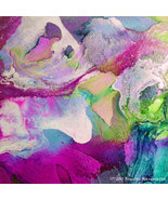 IN LOVE  Fine Art Canvas Giclee Abstract White ... - $495.00