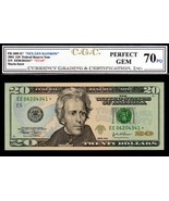 "US FR 2089* 2004 STAR $20 FEDERAL RESERVE CGC 70PQ ""PERFECT GEM"" FINEST ... - $195.00"