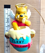 DISNEY CHRISTMAS MAGIC Winnie the Pooh Hunny Pot Angel Christmas Ornamen... - $45.99