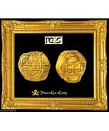 """SPAIN 2 ESCUDOS DOUBLOON COB 1619 """"DATED"""" PCGS 62 LIKELY ATOCHA SHIPWREC... - $6,950.00"""