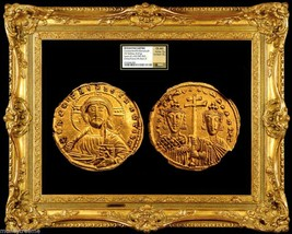 Byzantine Empire Constantine Vii Jesus Christ Ad 945 Gold Coin Ngc Ch Au 5x4 - $5,950.00