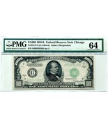 "US FR 2212-G ""HIGH DENOMINATION"" 1934A $1,000 FEDERAL RESERVE LIGHT GREE... - $5,950.00"