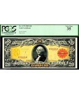 "FR 1179 GOLD CERTIFICATE $20 ""TECHNICOLOR"" 1905 GRADED PCGS 35! - $12,500.00"