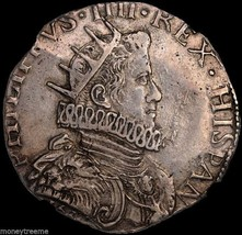 Italy Milan 1630 (Dated) King Philip Iv  Ngc 50 Silver Ducat Coin - $1,950.00