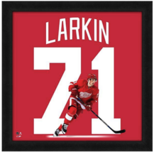 898262040 Dylan Larkin Detroit Red Wings Officially Licensed 20 quot  x 20 quot   Uniframe ...