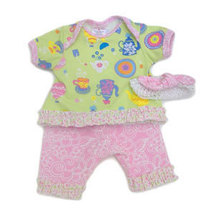 Preemie 4-7 Pounds Preemie Yums Girls Tea Time 3 Piece Set - $24.00