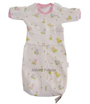 Preemie Girls 3-6 Pounds Teddy Bears-n-Honey Bag Gown With Front Opening   - $15.00