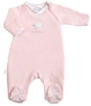 Preemie Girls 0-5 Pounds Kushies Preemie Little Lamb Pink Dots Sleeper - $20.00