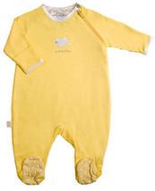 Preemie Unisex 0-5 Pounds Kushies Little Lamb Yellow Dots Sleeper - $20.00