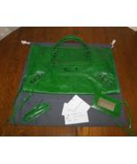 BALENCIAGA 2007 Vert Gazon RH Work CHEVRE  - $999.99