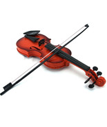 childrens Educational Musical Instrument gift Fiddle Brown Simulation Vi... - $14.93