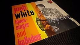 Josh White Blues Singer and Balladeer LP, Vinyl, 1962, Blues, FREE SHIPPING - $16.81