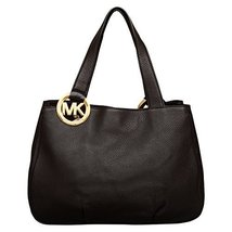 MICHAEL Michael Kors Large Fulton E/W Tote in Black - $320.00