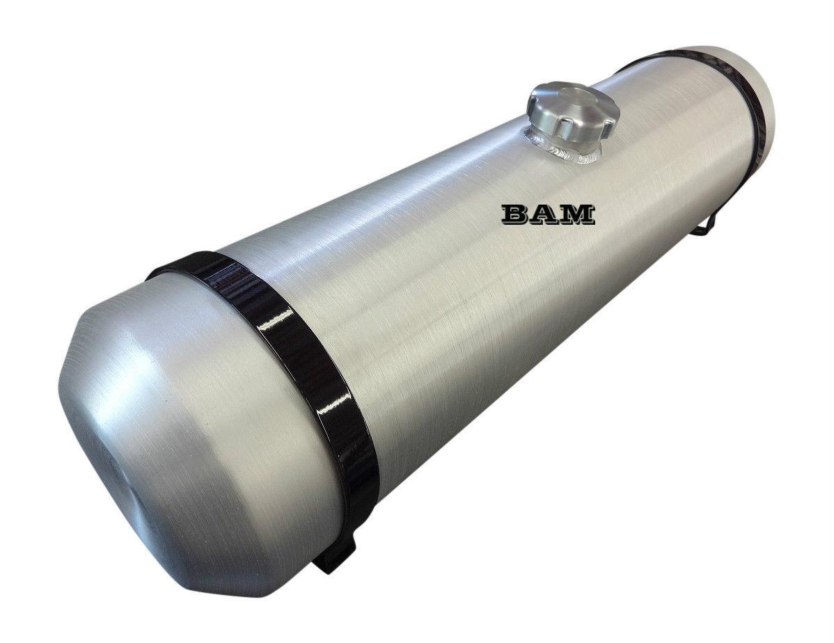 Trike Offroad 8 GALLON 1//4 NPT 10x24 Vertical Spun Aluminum Gas Tank
