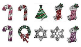 "Christmas Dog Collar Holiday 10mm Slider Charms * 10 Styles * 3/8"" Festi... - €6,99 EUR"