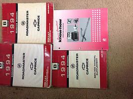 1994 BUICK ROADMASTER CHEVY CAPRICE Service Repair Shop Manual SET W Sup... - $118.75