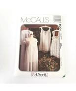 McCalls 8004 Size 12 14 Lingerie Alicyn Nightgown Baby Dolls Pattern Uncut - $12.99