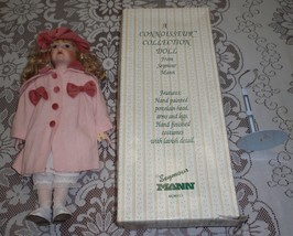 """Allison"" Seymour Mann A Connoisseur Collection Doll W/ Freckles + Original Box! - $58.19"