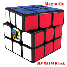 RS3M MF3 Moyu Magnetic 3x3 Magic Cube Twisty Puzzle for Toys Black - $24.87