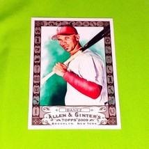 Mlb Raul Ibanez Phillies 2009 Topps Allen & Ginter Dick Perez Sketch Card Mnt - $2.48