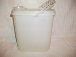 Vintage Tupperware Pitcher 1.5 Quart Beverage Buddy SHEER w/ Handle #587... - $19.99