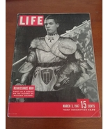Vintage Life Magazine 1947 March 3 Renaissance Man spring suits water polo - $18.95