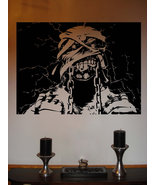 Iron Maiden Eddie Powerslave Metal Vinyl Wall Sticker Decal  28 in w x 2... - $29.99