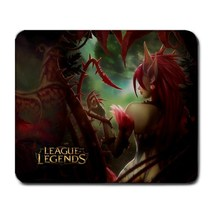 League Of Legends Morgana And Zyra Large Mousepad - Gamer Pc Mouse Pad - $4.99
