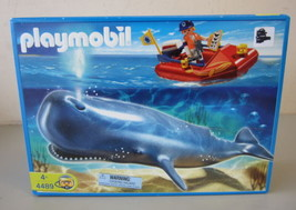 New Playmobil 4489 Researcher on Boat and Whale NIB - $39.99