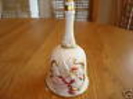 Homco ceramic bell #1441 figure collectible - $13.84