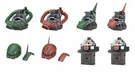 Bandai Mobile Suit Gundam EXCEED MODEL ZAKU HEAD customize parts 2 [all ... - $83.47