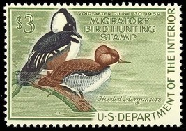 RW35, Mint VF NH DUCK stamp - Cat $75.00 - $34.88