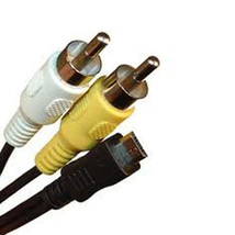 Micro 5 Pin AV Audio Video RCA Cable Cord for Sony Digital Cameras - $3.95