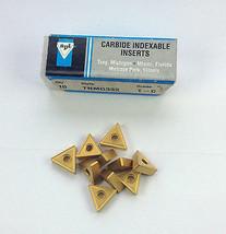 10 pcs. TNMG-433 Grade C5//C6 TiN Coated Carbide Inserts
