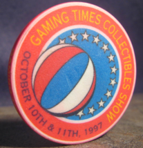 """N/D Casino Chip From: """"Gaming Times Collectibles Show"""" Circa 1997- (sku#... - $2.99"""