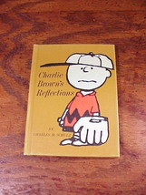 Charlie Brown's Reflections Hardback Hallmark Book by Charles M. Schultz... - $5.50