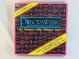 Pubcrawling 1996 Drinking Board Game Northern Games 100% Complete Excellent - $18.49