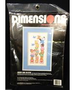 Dimensions Cross Stitch Kit I love you Bears and Blocks - Cute - new - $24.75