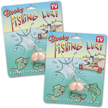 (Set of 4) Boobie Fishing Lure Gags - Booby Novelty Items As Seen on TV - $13.97