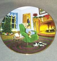 Vintage Hamilton Collection Dear Santa 1995 Collector Plate Decorative Christmas - $12.87
